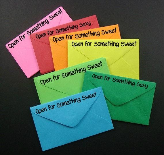 Love envelopes