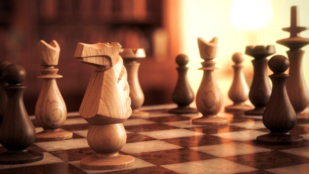 Romantic chess birthday ideas