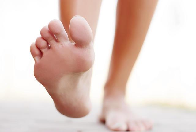 Foot outside