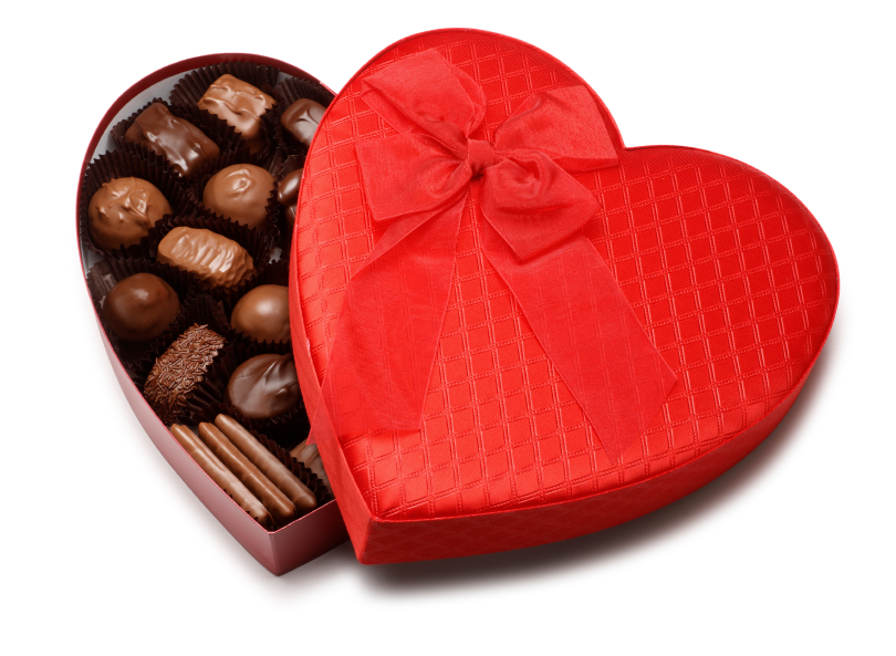 box of chocolate gift wrapping ideas