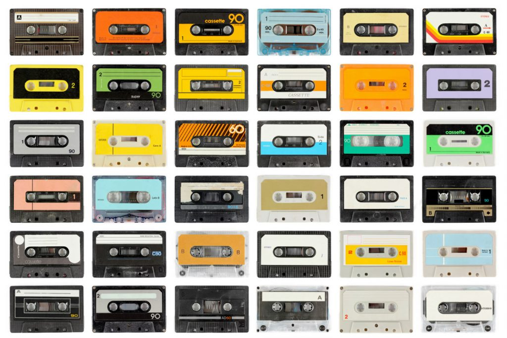 cassette tape romantic long distance relationship idea