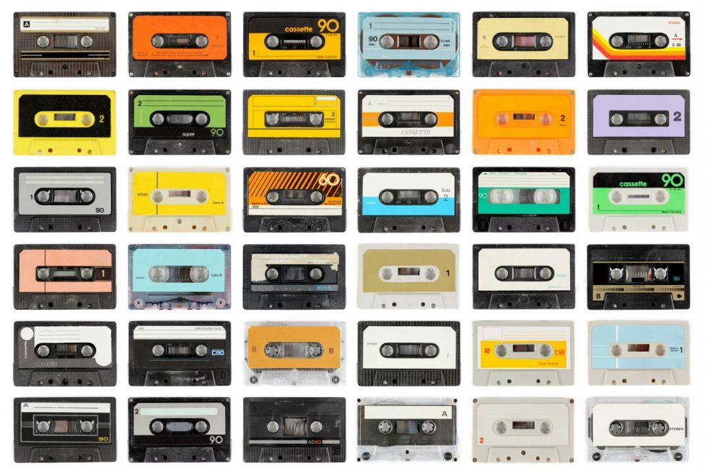 cassette tape romantic long distance relationship idea