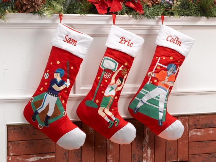 christmas sports stockings