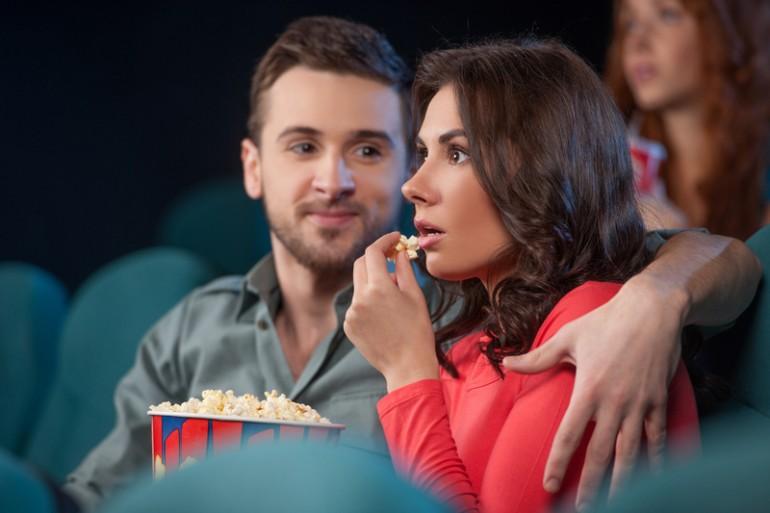 couple watching movie romantic ideas