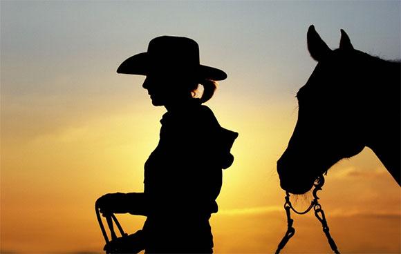 cowgirl cowboy romantic craft ideas painting ceramics