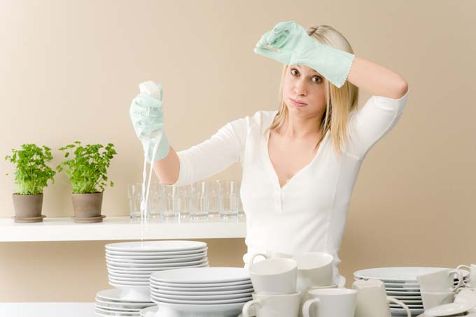 doing dishes romantic chores ideas