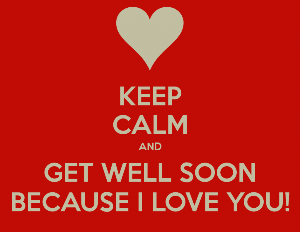 get well soon when someone is sick
