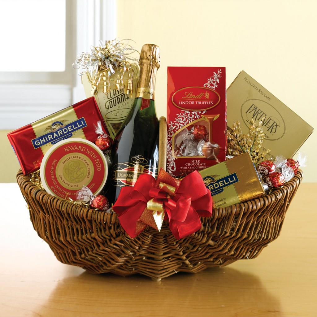 gift basket to cheer them up