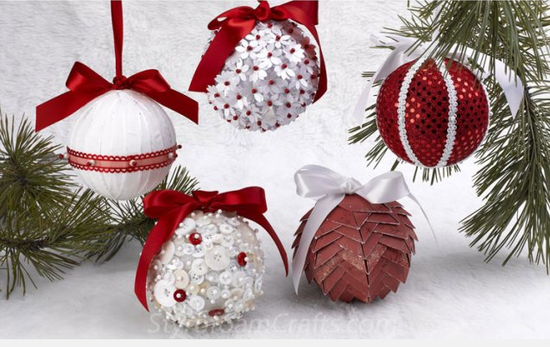 hanging hearts ornaments