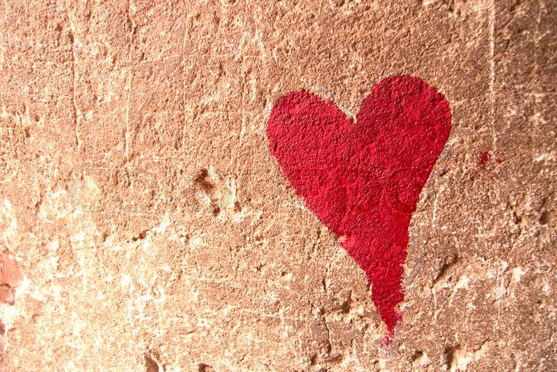 heart graffiti valentines card ideas