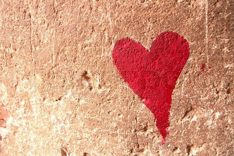 heart graffiti valentines card ideas
