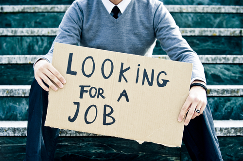 looking for a job encourage ment