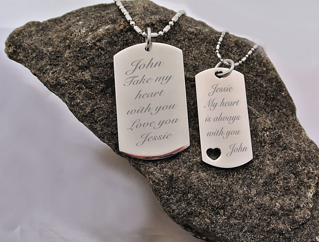 love dog tags