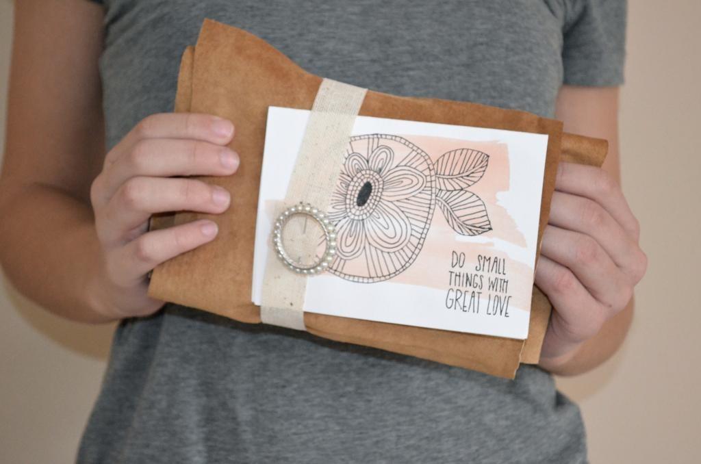 love parcel mailing romance idea