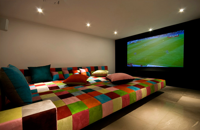 modern-home-theater romantic
