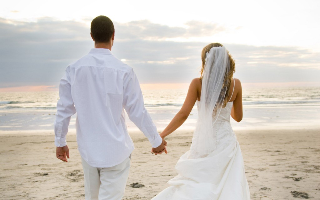 newlyweds romantic card idea