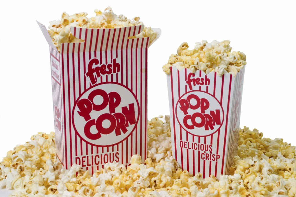 popcorn movie night gift box