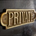 PUBLIC, YET PRIVATE