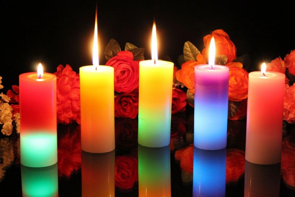 romantic candles ideas