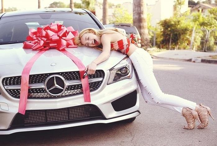 romantic car present clue hunt