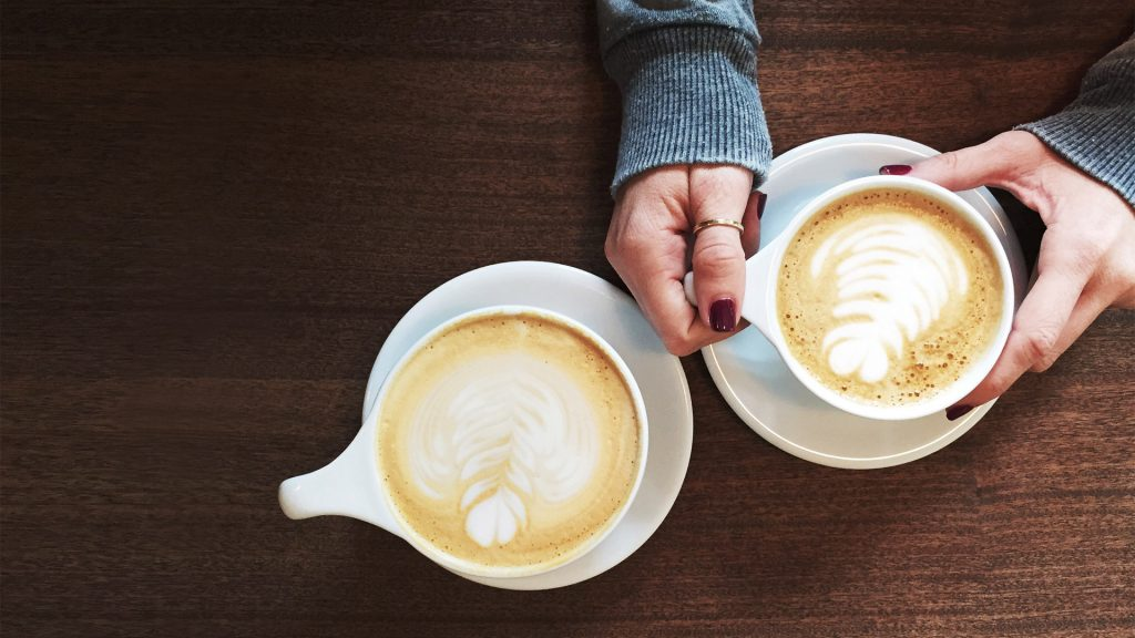 romantic coffee together and apart ideas couples