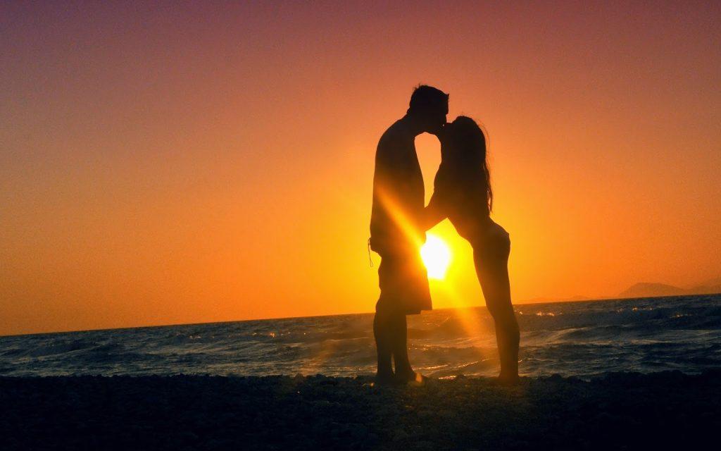 romantic couple on the beach long distance ideas