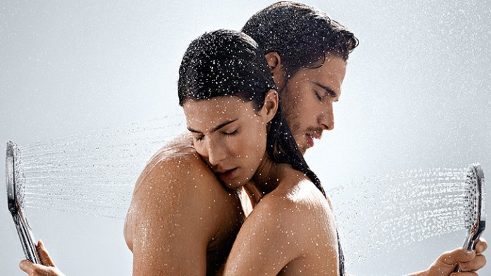 romantic couple showering together ways to say