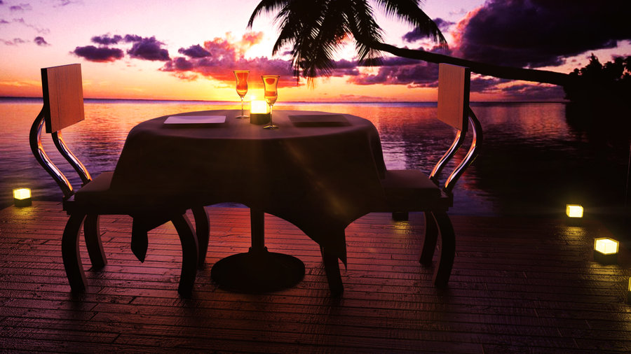 romantic dinner date 100 ideas