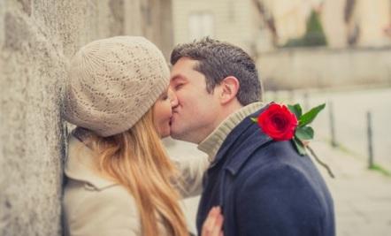romantic first kiss love poem idea