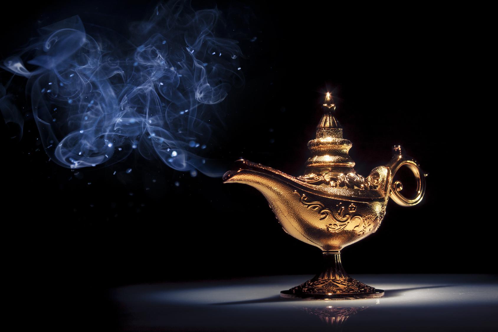 Real Genie Lamp