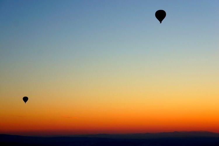 romantic incredible sunrise hota air balloon romantic welcome home ideas