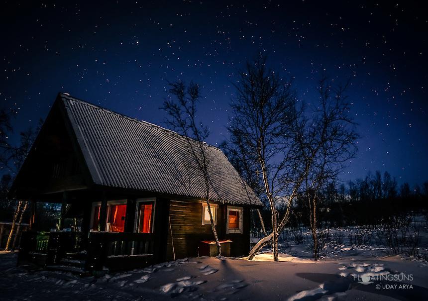 Wood Cabin Retreat