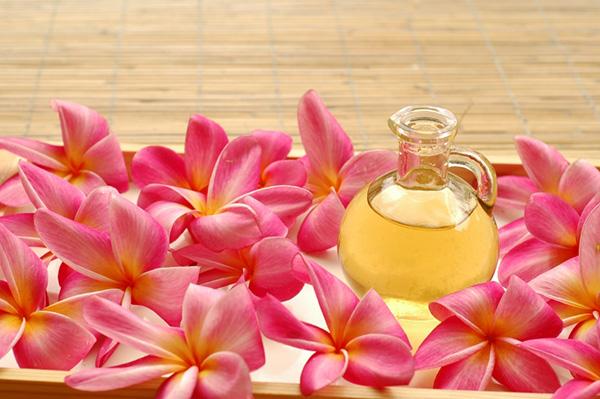 romantic massage flower idea