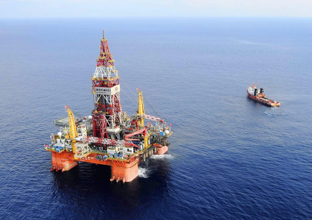 Vietnam China Oil Rig