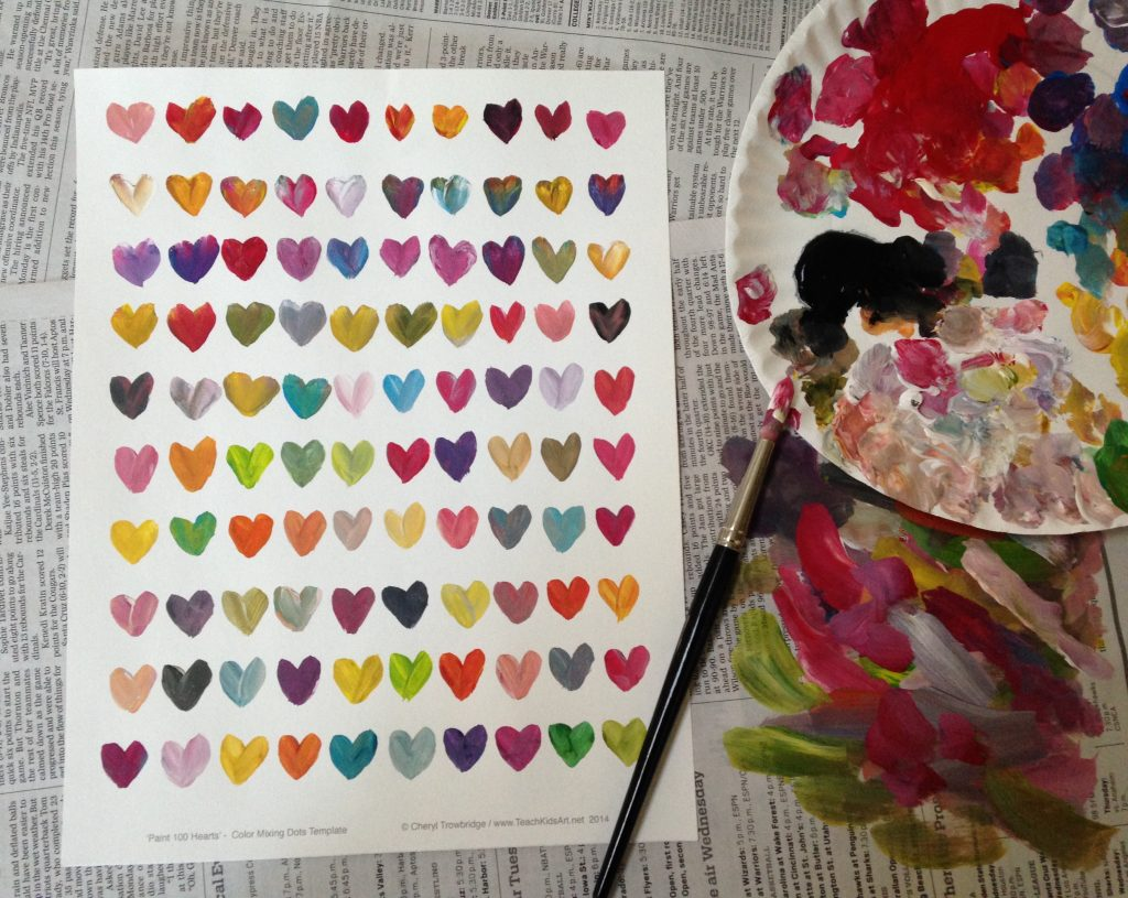 romantic-painting-hearts-gift-love-note-idea