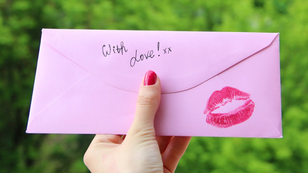 romantic secret admirer love note ideas