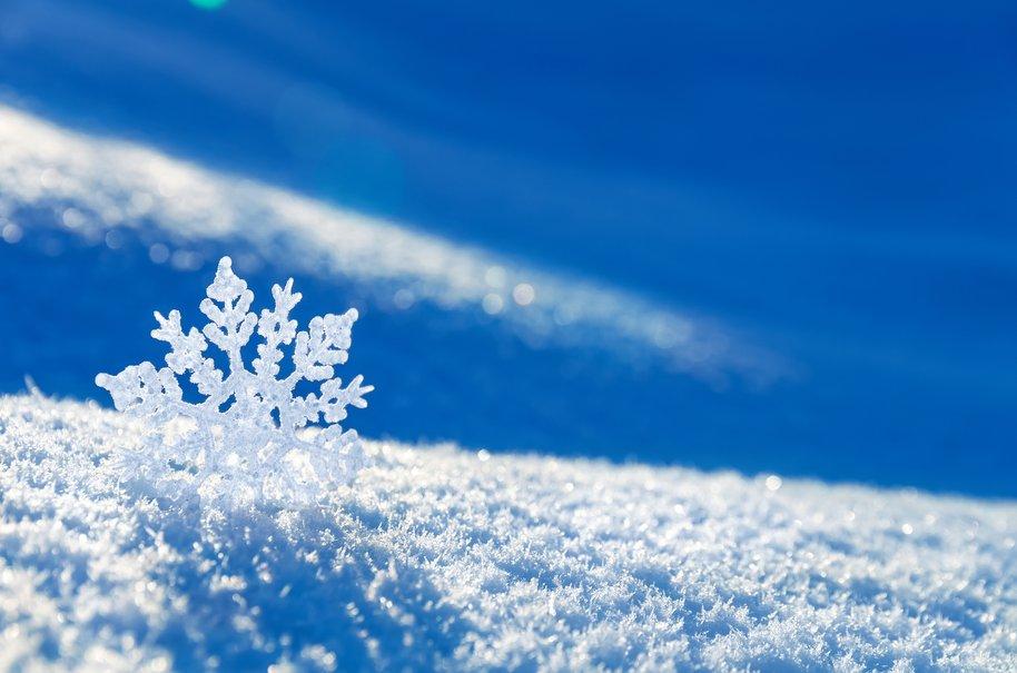 romantic snow craft present ideas