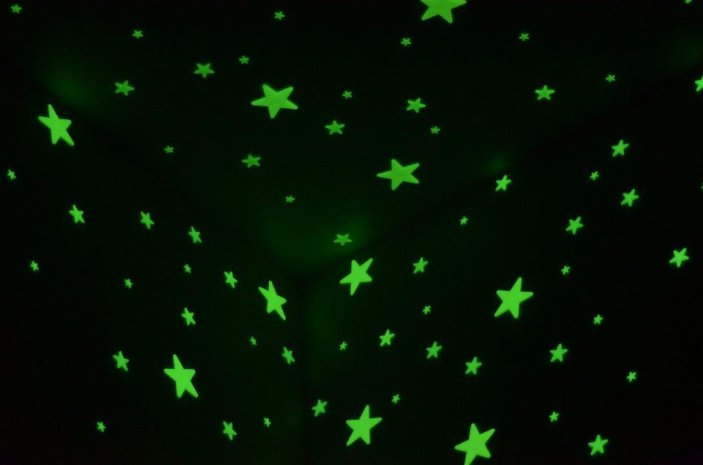 romantic star glow in the dark poem love quote ideas