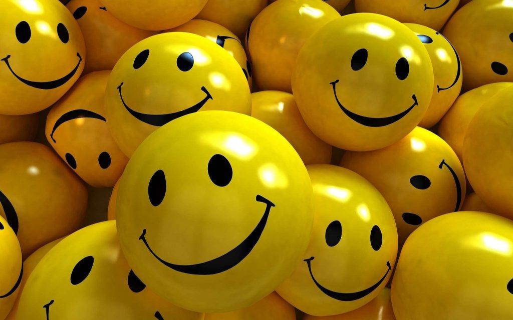 smiley faces romantic ideas