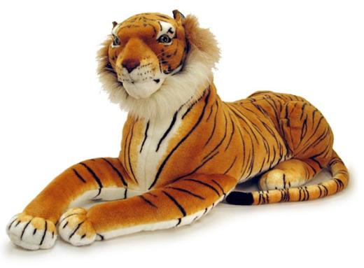 stuffed tiger valentines day