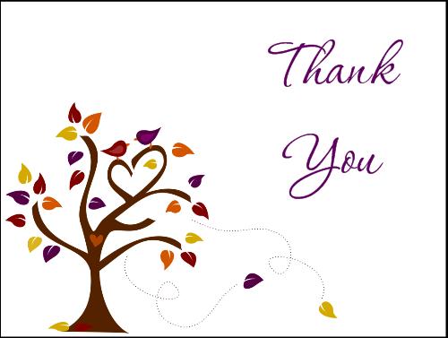thanking inlaws