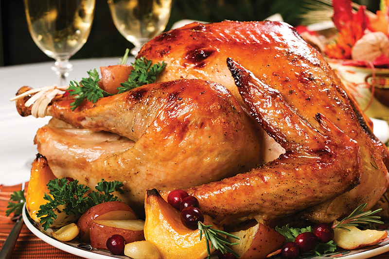 thanksgiving talking turkey romantic care package shipped meal ideas