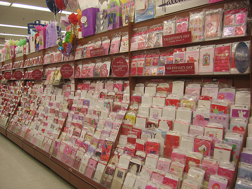 valentines day cards store