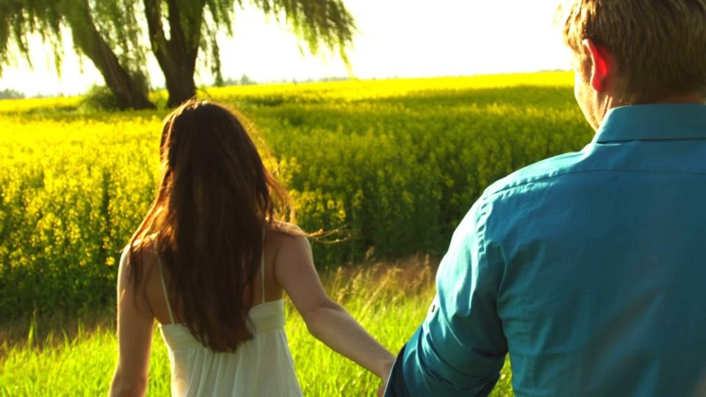 woman leading man date surprise weekend