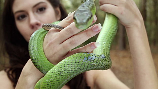 women holding snake pet gift ideas worst romantic gifts ever