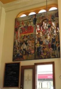 Cafe Divine mural