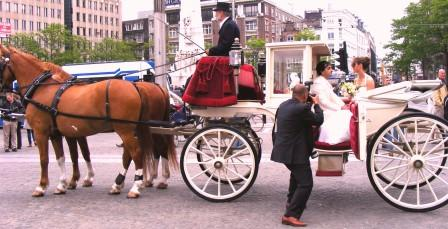 Dam square wedding