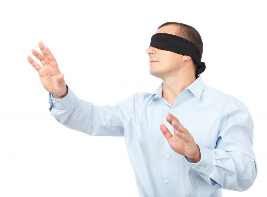 blindfoled date idea