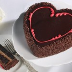 HEAVENLY HEART CAKE