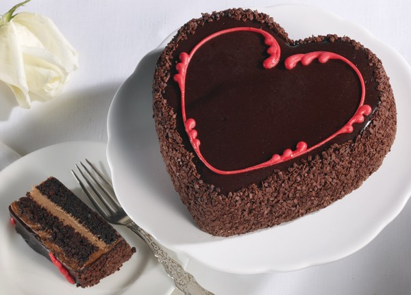 Valentine S Day Recipes Heavenly Heart Cake
